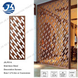 Factory Supply Laser Cutting Stainless Steel Partition Wall for Room