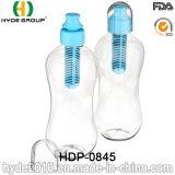 プラスチックによって作動するカーボンフィルターびん(HDP-0845)
