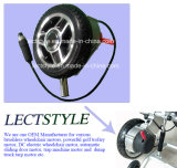 8 Zoll-schwanzloser übersetzter Rollstuhl-Naben-Motor mit ElektroMagentic Bremse u. Steuerknüppel-Hebel