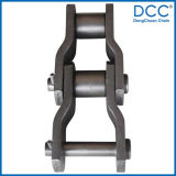 Heavy Duty Forged Offset Sidebar Transmissão Drive Conveyor Chain