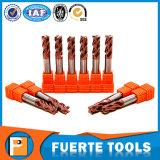 4 flautas de carburo macizo CNC Torre herramienta torreta