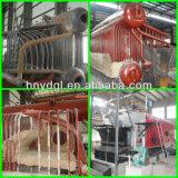 De Schil van de houten Spaander/van de Rijst/Biomassa In brand gestoken Stoomketel