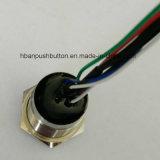 Nueva lámpara experimental de cobre amarillo niquelada variable atada con alambre de 6 colores IP68