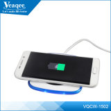 Carregador sem fio portátil de telefone celular para Samsung S6 Borda / Nota 5