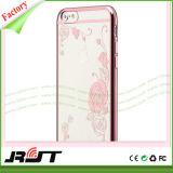Серия цветка низкой цены гальванизируя случай мобильного телефона TPU