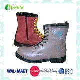 Boots das crianças com plutônio Upper e TPR Sole