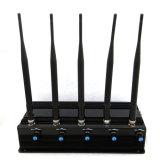2015 stampo del segnale della bomba di WiFi GSM CDMA del telefono delle cellule/emittente di disturbo cellulari senza fili, emittente di disturbo 2g+3G+2.4G+4G+GPS+VHF+UHF