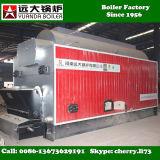 Carbón horizontal de la caldera de vapor de Dzl 2000kg 6000kg de la eficacia del 85% encendido