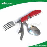 Ся складывая комплект вилки ложки ножа нержавеющей стали