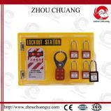 La maison du cadenas de sûreté avec le centre procurable de verrouillage de la garantie 4-Locks
