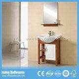 Мебель дуба полости ванной комнаты американского типа классицистическая с 2 цветами (BV165W)