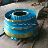 Hohes Mangan-Werfen konkav für Metso Zerkleinerungsmaschine