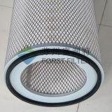 Elemento di filtro dell'aria pieghettato polvere industriale di Forst
