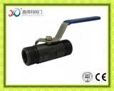 中国の工場1PCは減らされた穴のねじで締められた球弁を造った