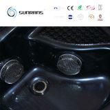 China una amplia gama tina caliente de interior de 2 personas de los salones de la tina caliente 2 de la mini