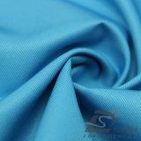 agua de 75D 330t y de la ropa de deportes tela tejida chaqueta al aire libre Viento-Resistente 100% de la pongis del poliester del telar jacquar de la tela cruzada abajo (53192)