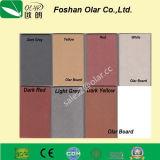 Tarjeta caliente de la fachada del revestimiento de la decoración del cemento de la fibra de la venta