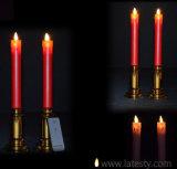 ホーム装飾は電子LEDの先を細くすることの蝋燭明滅した