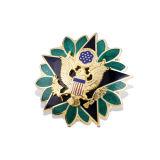 Emblema de organização macio do chapeamento de ouro do esmalte (GZHY-SE-002)