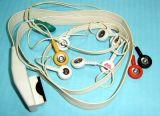 Câble du CEI Snap&Clip EKG/ECG de Mortara 12pin