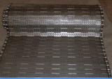 Courroie de maille de convoyeur en métal pour le matériel chaud de traitement