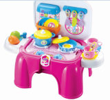 Het Vastgestelde Stuk speelgoed van het Spel van de kruk voor het Koken van de Keuken Reeks