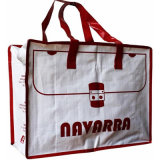 Pp Nonwoven Shopping Bag con Cover e Zipper alti