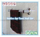 Crémaillère simple passée au bichromate de potasse de barre d'essuie-main des accessoires de salle de bains avec la cuvette d'aspiration