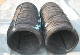 El negro destempló el alambre/el alambre obligatorio negro de la construcción/el alambre destemplado, afianzando el alambre