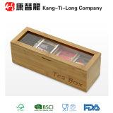 タケ容器の記憶のオーガナイザーの容器の茶ボックス