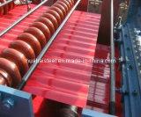 Farben-überzogener Dach-Stahl im Ring/im Blatt