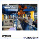 Hijstoestel van de Keten van de Snelheid van Liftking 3t het Dubbele Elektrische met de Opschorting van de Haak (ECH 03-01D)