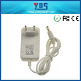 Ue Wall Plug Adapter di 5V 1.2A con White Color