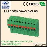 Ll2edgkdh-5.0/5.08 Pluggable 끝 구획 PCB 연결관