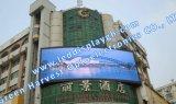 P10 im Freien SMD vorderer Service gebogene Reklameanzeige IP65 LED-Bildschirmanzeige