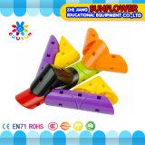 Kinder Plasitc Tischplattenspielzeug-drehende Bausteine