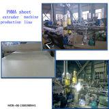 Espulsore di lamiera sottile trasparente dell'espulsione Line/PMMA della lamiera sottile di PMMAMacchina