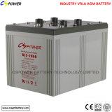 Batterie profonde approuvée 2V2500ah du cycle AGM de la CE pour la mémoire solaire