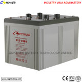 Батарея 2V2500ah AGM цикла CE Approved глубокая для солнечного хранения