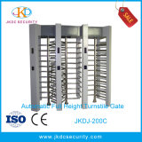 Cancello girevole pieno elettrico flessibile di altezza dell'acciaio inossidabile di RFID
