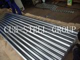 Профили Gi Corrugated стальные/гофрировали после того как они гальванизированы настилающ крышу лист