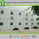 Het gekwalificeerde Huis van de Container van de Structuur van het Staal Geprefabriceerde als Bureau/Hotel/Klaslokaal/Toilet