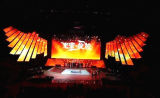 P4 Indoor Full Color LED Based Video Display Wall, LED Screen, LED Panel per Stage