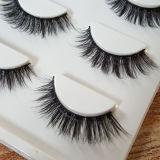 Moda maquillaje colorido pelo sintético pestañas falsas
