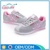 Régime des chaussures de secousse, chaussures respirables de femmes de lacet