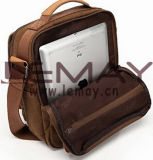 iPad durável Bag Tote Bag Satchel Bag de Multifunction Canvas Shoulder Bag Business Messenger Bag para Men e Women