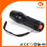 Krachtig Flitslicht 26650 Navulbaar Tactisch Flitslicht LEDs van Zoomable 10W Xml van Alumunium T6