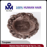 ブラジルの人間の毛髪の方法人のToupee