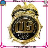 Le laiton/police de cuivre Badge avec le logo 3D