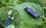 교육 DIY 태양 장난감 다중 발 곤충 1108-5년이 태양 에너지에 의하여 선물 농담을 한다